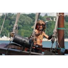 Следобеден пиратски круиз с морска битка и пица