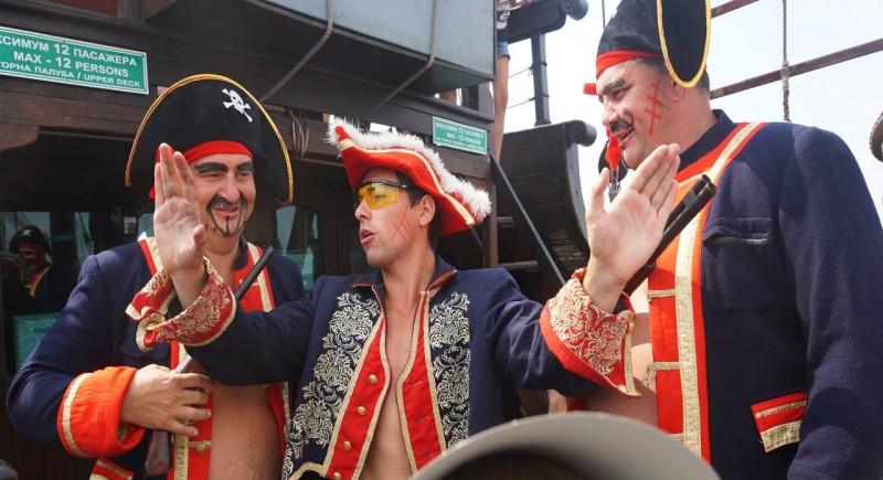 Успорвани пиратски съревнования